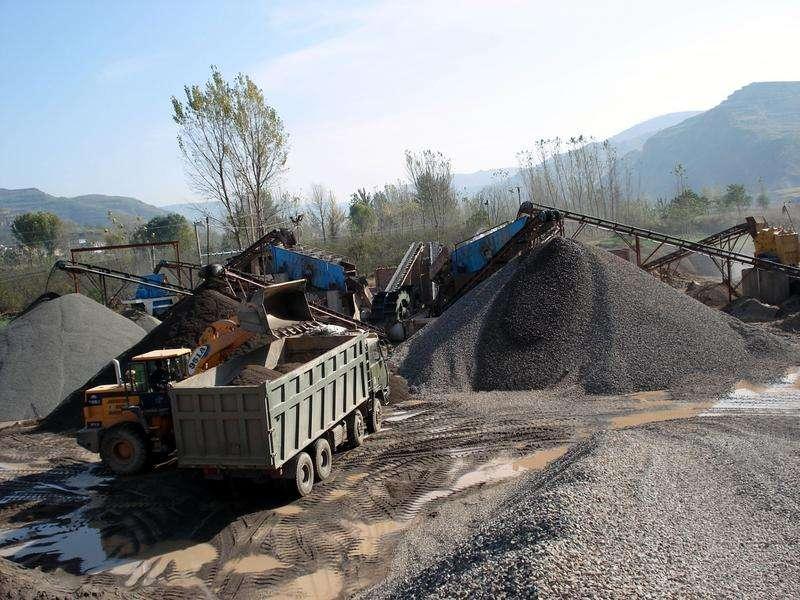 时产300吨制砂生产线配置