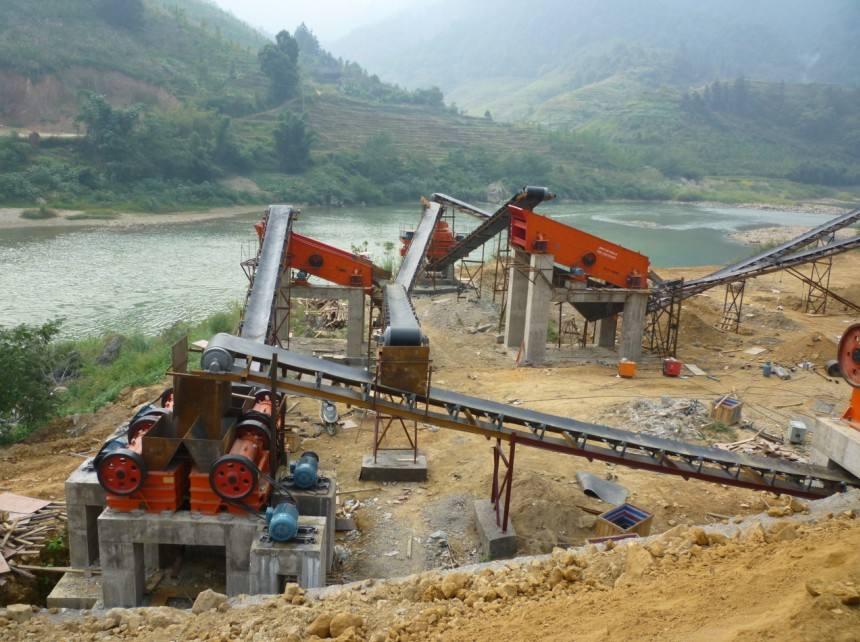 时产200吨制砂生产线配置